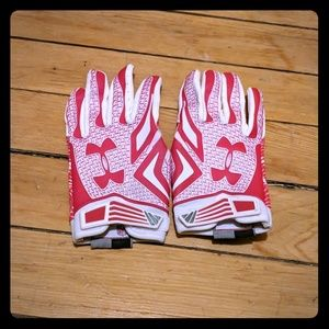 Under Armour Football Gloves Youth/Men LG
